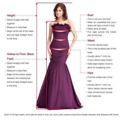 Charming Prom Dress,V-Neck Prom Dre..