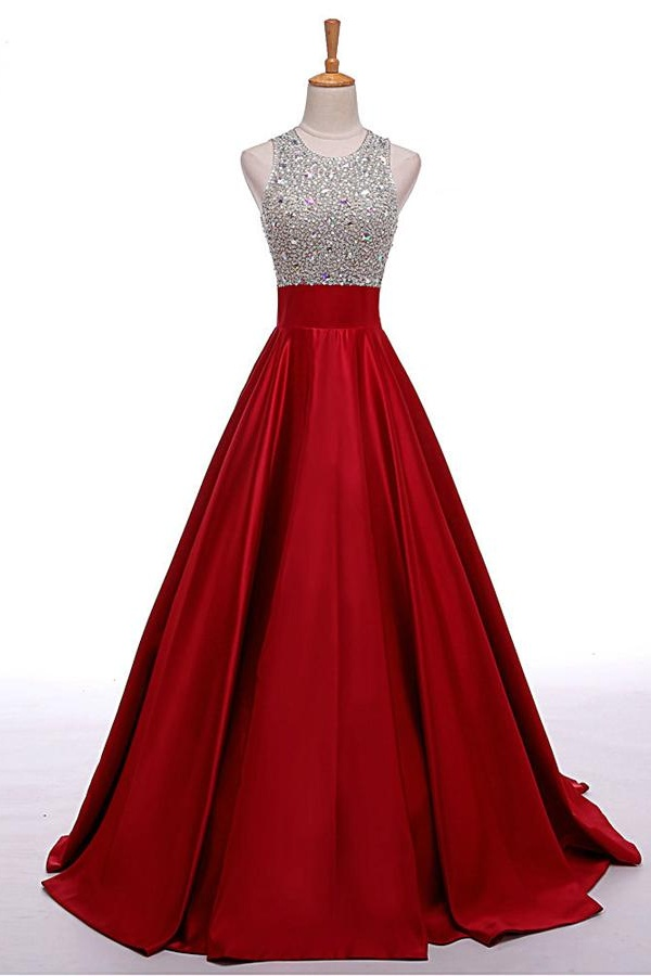 Prom dresses evening dress party dresses high low beaded for Dresses to wear to a wedding for teens