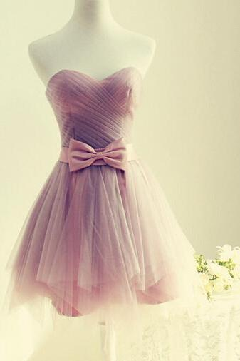 Charming Homecoming Dress Tulle PROM Dress Sweetheart Homecoming Dress Brief Homecoming Dress