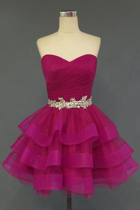 Charming Homecoming Dress Organza Homecoming Dress Sweetheart Homecoming Dress Short Noble Homecoming Dress