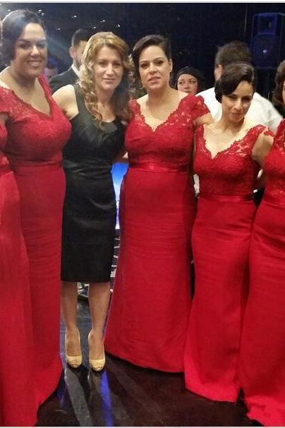 Bridesmaid Dresses,Lace Bridesmaid Dresses,Red Bridesmaid Dresses,Cheap Bridesmaid Dresses,Long Bridesmaid Dresses,Mermaid Bridesmaid Dress,Elegant Bridesmaid Gowns,Wedding Party Dress