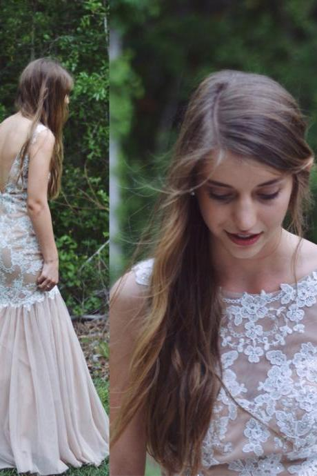 Prom Gown,Prom Dresses With Lace,Evening Gowns,Mermaid Formal Dresses,Prom Dresses 2016