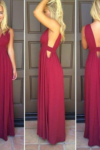 Prom Dresses,Evening Dress,Burgundy Prom Dresses,Wine Red Evening Gowns,Modest Formal Dresses,Burgundy Prom Dresses,New Fashion Evening Gown,Long Evening Gowns