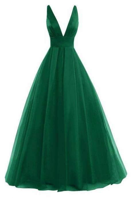 Prom Dresses,Evening Dress,Backless Prom Dresses,Green Prom Gowns,Green Prom Dresses 2017, Party Dresses 2017,Long Prom Gown,Prom Dress