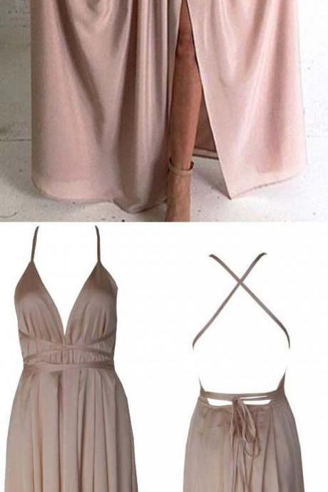 Prom Dresses,Evening Dress,Prom Dresses,Prom Dresses,Blush Pink Prom Dresses,A-Line Prom Dress,Simple Prom Dress,Chiffon Prom Dress,Simple Evening Gowns,Cheap Party Dress,Elegant Prom Dresses,Formal Gowns For Teens