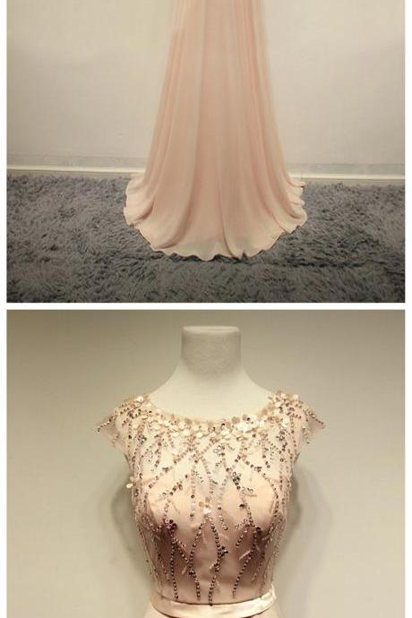 Prom Dresses,Evening Dress,Party Dresses,Prom Dresses,Blush Pink Evening Gowns,Sexy Formal Dresses,Chiffon Prom Dresses,Fashion Evening Gown,Sexy Evening Dress,Party Dress,Bridesmaid Gowns