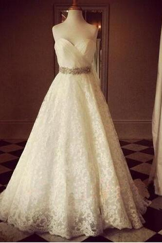 Wedding Dresses,2017 Wedding Gown,Lace Wedding Gowns,Ball Gown Bridal Dress,Fitted Wedding Dress,Corset Brides Dress,Vintage Wedding Gowns,Straps Wedding Dress