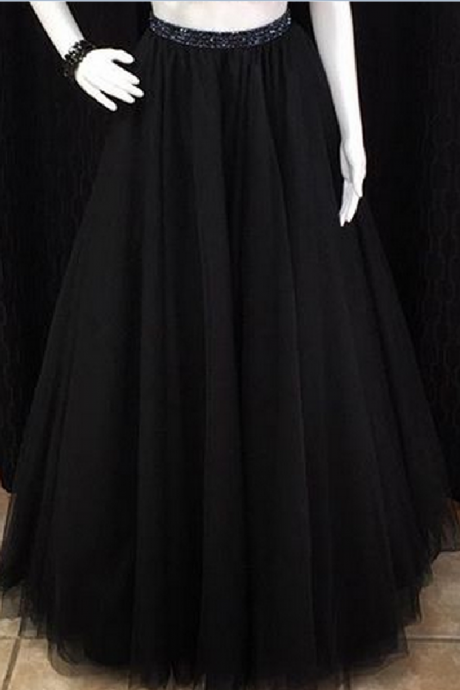 Prom Dresses,Evening Dress,Party Dresses,Prom Dresses,Beaded Prom Dresses,Beading Prom Dress,Black Prom Gown,2 Pieces Prom Gowns,Elegant Evening Dress,Two Piece Evening Gowns,2 Pieces Evening Gowns,A Line Prom Dress