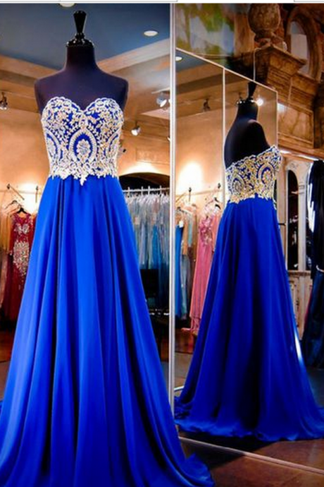 Elegant Long Evening Dresses,New Arrival Strapless Evening Dresses,Chiffon Prom Dresses,Floor-Length Prom Dresses,Pretty Prom Dresses