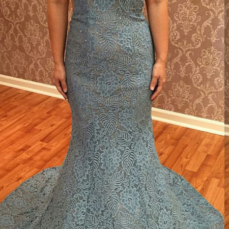 Long Dress prom dresses,evening gowns,Lace prom gowns,blue prom gowns,new style fashion prom gowns