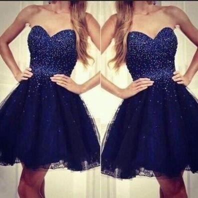 Homecoming Dress,Tulle Homecoming Dress,Cute Homecoming Dress,Homecoming Dress,Short Prom Dress,Royal Blue Homecoming Gowns,Beaded Sweet 16 Dress