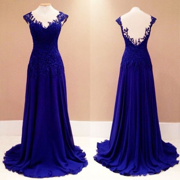 Prom Dresses,Evening Dress,Lace Prom Gown,New Fashion Prom Dresses,Royal Blue Evening Gowns,Lace Party Dresses,Evening Gowns,Long Formal Dress For Teens
